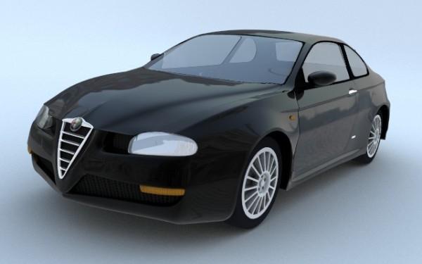Alfa Romeo .. noire