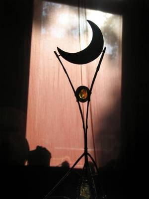 La lune ..