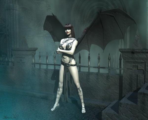Sorcière .. gothique